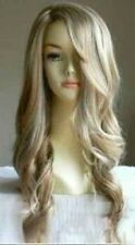 USJF294  charming long wavy blonde women's hair wig wigs for women