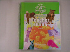 HSP California Excursions Grade 6 English Learners Teacher Guide 0153754397