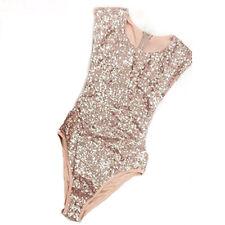 Shiny Women One Piece Sequin Swimsuit Swimwear Bathing Suit Bikini Mermaid Dress