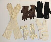 Vintage Gloves Lot Of 5