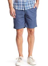 NWT Save Khaki United Men's Light Twill Bermuda Short Sz 38 BLUE $120