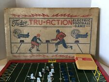 VINTAGE TUDOR TRU-ACTION ELECTRIC FOOTBALL GAME 1950's METAL PLAYERS