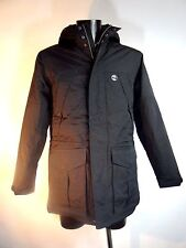 TIMBERLAND Black Waterproof PARKA Padded with Hood Size S BNWT