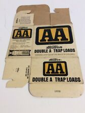 Vintage Western Double A Trap Loads 12 Ga Empty Box Aa Western Box #1