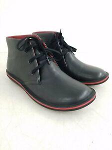 Camper 'Beetle' Black Chukka Boots Men's 10 w/ Box