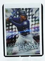 2020 Topps Chrome Kyle Lewis Freshman Flash SP Rookie Card Insert- ROY RC - QTY!