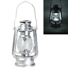 Dimmable Portable Silver Battery 15 LED Hanging Lantern Light Camping Tent Lamp