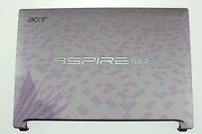 ACER ASPIRE ONE D260 NETBOOK TOP LID SCREEN COVER PINK VIOLET 60.SCJ02.002 H139