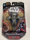 Star Wars Transformers Jango Fett Slave 1 Ship & Figure 2006 Hasbro NEW For Sale