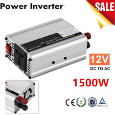 1500W DC 12V to AC 110V Car Power Inverter Charger Converter for Electronic D&