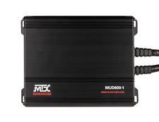 MTX AUDIO MUD600-1 600-Watt RMS Mono Block Powersports Amplifier UTV MARINE BOAT