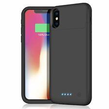 Cover Batteria per iPhone X,Ricaricabile Custodia Batteria Portatile Protettiva