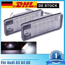 für Audi A4 B6 B7 Avant Limo Cabrio LED Kennzeichenbeleuchtung Kennzeichenlicht