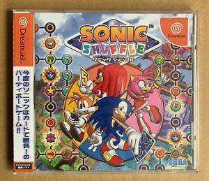 Sonic Shuffle SEGA Dreamcast Japan New! Sealed