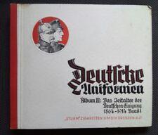 Sturm Zigarettenbilder Sammelbilder deutsche Uniformen Band 1 Uniform Orden