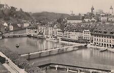 AK Luzern - Blick über den Fluss