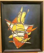 Julian MORALES (1937-1990)   - Abstract 1970 - Oil on Canvas CUBAN ART