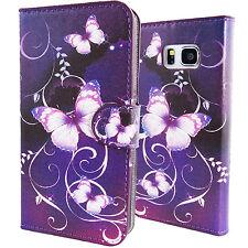 Estuches Portafolio Cover Funda Forros con Mariposas Para Samsung Galaxy Note 5