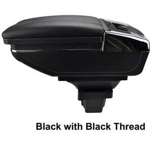 Black Armrest For Chevrolet / Trax Holden Trax / Chevrolet Tracker 13-17 Storage