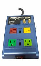 Monster PowerCenter HT400 Home Theater Surge Protector 4 Outlets - 1665 Joules