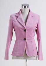 Harry Potter Fire Hermione Granger Pink Corduroy Blazer Coat Costume