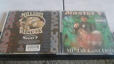 Master P - MP Da Last Don - 2 CD`s  US First Press von 1998 mit 3D Cover