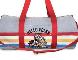 Disney Mickey Mouse and Friends Duffle Bag Duffel NWT