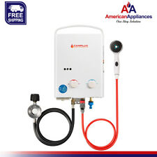 Refurbished Camplux 5L 1.32 GPM Outdoor Portable Propane Tankless Water Heater