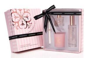 Xmas  gift present Scent Aroma Botanical Marshmallow Rose Deluxe Gift Set