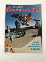 VERY RARE VINTAGE SKATEBOARD TRANSWORLD MAGAZINE AUGUST 1984 KEVIN STAAB COVER