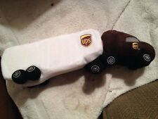 New, UPS plush tractor trailer with authentic motor noise