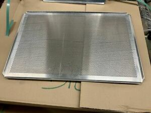 Lochbackbleche Aluminium 60x40 cm  5 Stück
