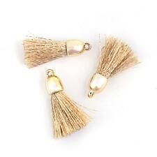 Pack of 2 Golden Tassel Pendant