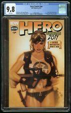 HERO COMICS #1 (2011) CGC 9.8 ADAM HUGHES IDW PUBLISHING