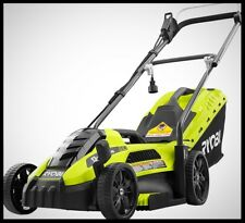 RYOBI 13 Inch 11 Amp Push Lawn Mover Walk Behind Electric Portable Grass Trimmer