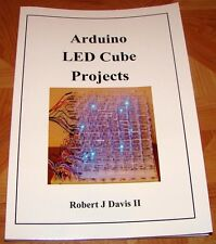 Arduino LED Cube Projects plans for 4x4x4 and 8x8x8 includes color RGB designs