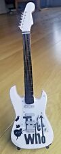 Miniature Fender Standard  Stratocaster Guitar - The Who (Ornamental)