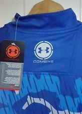 Under Armour Combine 1/2 Zip Shirt BaseLayer Men's Sz: XL (NWT - $69.99) 1255341