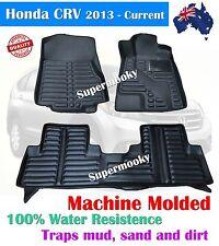 HONDA CRV 2012 - Current Rubber Floor Mat Fully Molded 100% Water Resistant