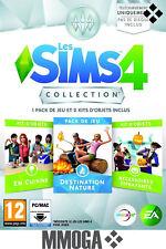 Les Sims 4 - collection 2: Destination Nature + En Cuisine + Effrayants - PC FR