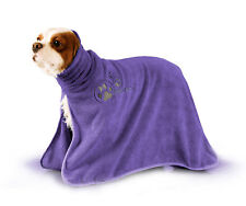 Show Tech DryDude Dog Towel NEW PURPLE Bathing/Grooming/Mud (LARGE)