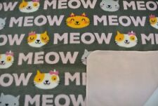 Cats Kittens Meow Blanket 28x22""