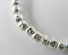 Karen Hill Tribe Silver 30 Hammered Beads 3.5mm.