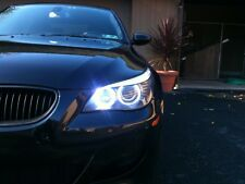 BMW 5 Series E60 E61 LCI Angel Eye Halo LED Upgrade Bulbs 6000K Rings Corona