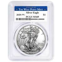 2020 S  U S MINT AMERICAN PROOF 99.93/% SILVER EAGLE DOLLAR W//COA    ITEM #51R