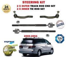 Todos los 4 Toyota Previa Lucida Estima 2000-2006 Puntal Amortiguador-Frente Y Parte Trasera