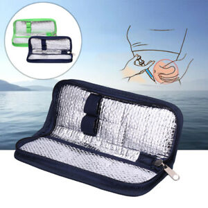 Portable Diabetic Insulin Pouch Cooler Thermal Insulation Cooling Bag Case New