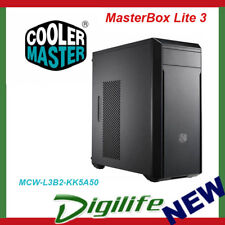 Cooler Master Masterbox Lite 3 mATX Case With 500w 80 Plus PSU