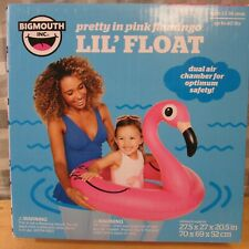 BIG MOUTH: NEW Pretty in Pink Flamingo Lil Float