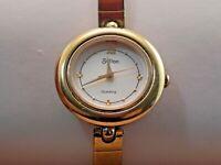Women's Sutton 35/6164 Wrist Watch-Gold Tone-New Battery-Swiss Movt.& Parts